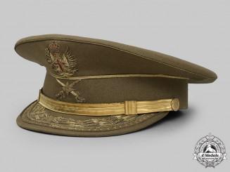 Spain, Kingdom. An Army Brigadier General's Peaked Cap by Rutz Loreno of Caracas, Juan Carlos Era (1975-2014)