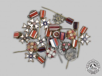 Poland, People's Republic. A Lot of Fifteen Miniature Awards