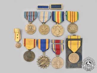 United States. A Lot of Nine Medals and Two Citations