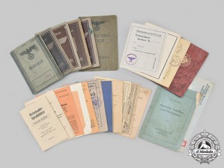 Germany, Third Reich. A Mixed lot of Identity Booklets and Documents