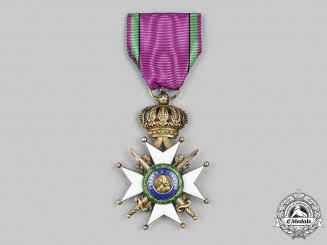 Saxe-Altenburg, Duchy. A Saxe-Ernestine House Order, I Class Knight's Cross with Swords, c.1915