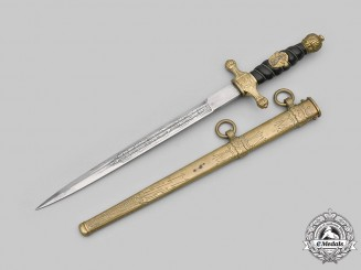 Germany, Wasserschutzpolizei. A Rare Water Protection Police Officer's Dagger with Emblem, by Carl Eickhorn