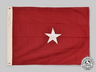 United States. An Army Brigadier General's Rank Field Flag