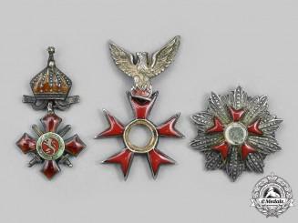 Bulgaria, Kingdom. An Order of Military Merit, Miniature Cross