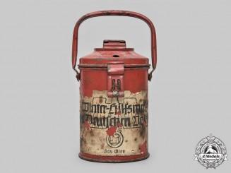 Germany, Third Reich. A Winterhilfswerk Gau Wien Donation Can, by M. Westermann & Co.