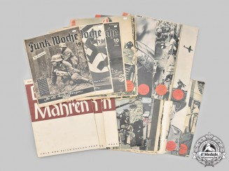 Germany, Third Reich. A Lot of Wartime Magazines
