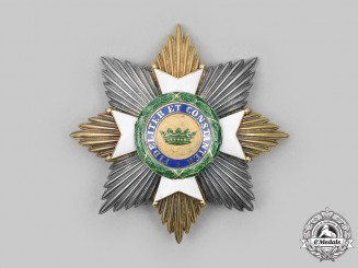Saxe-Ernestine, Dukedoms. A House Order, Grand Cross Breast Star by Godet, c. 1914