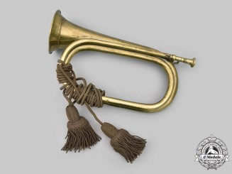 United States. A Military Brass Bugle