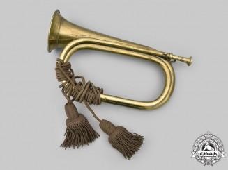 United States. A Military Brass Bugle