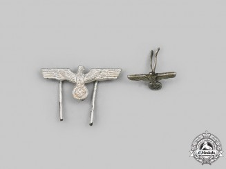 Germany, Wehrmacht. A Pair of Long Service Decoration Devices