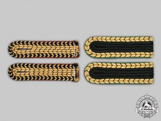 Germany, Third Reich. A Lot of Administrative Personnel Shoulder Boards