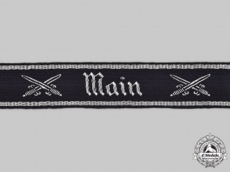 Germany, NSRKB. A National Socialist Reich Warrior's League Main District Cuff Title