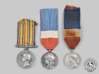 France, III and V Republics. A Lot of Three Awards