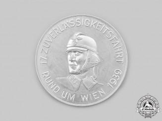 Germany, NSKK. A 1939 Motor Group Ostmark Vienna Table Medal