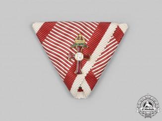 Austria, Empire. An Order of Franz Joseph, Miniature Officer with War Decoration