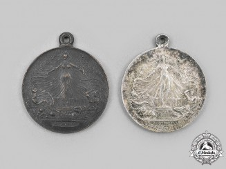 Australia. Two First War Peace Medals 1919
