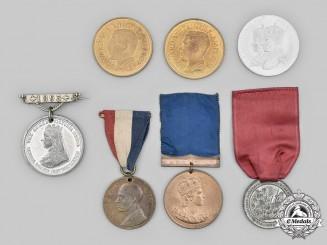 United Kingdom, Australia. A Lot of Seven Commemorative Medals