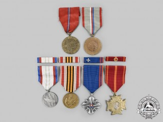 Czechoslovakia, Socialist Republic; Slovakia, Republic. A Lot of Six Awards