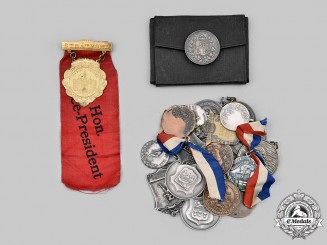Canada, Commonwealth. A Lot of Twenty-Two School and Athletic Medals