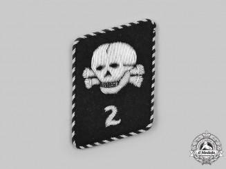 Germany, SS. A SS-Totenkopfverbände 2nd Sturm Collar Tab