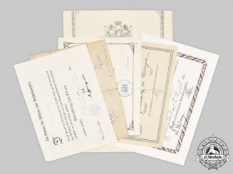 Germany, Imperial. A Group of First War Award Documents, Division Command z.b.V. 303