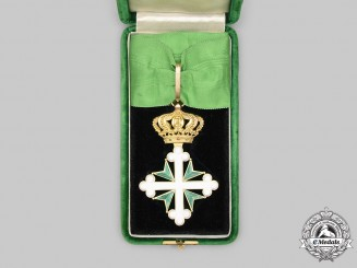 Italy, Kingdom. An Order of St. Maurice and St. Lazarus, III Class Commander in Gold, c.1900