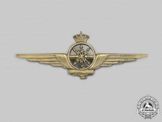 Italy, Facist State. A Royal Air Force (Regia Aeronautica Italiana) Navigator Qualification Badge, c.1941