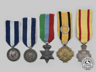 Greece, Kingdom. A Lot of Five Awards