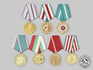 Bulgaria, People's Republic. A Lot of Seven Medals