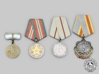 Russia, Soviet Union. A Lot of Four Awards