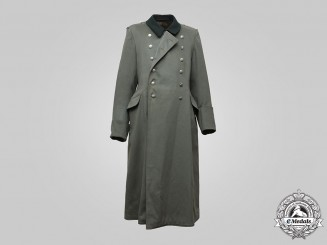 Germany, SS. A Waffen-SS EM/NCO's Greatcoat