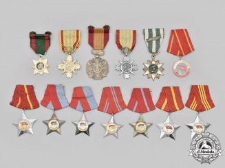 Vietnam, Republic (South Vietnam), Democratic Republic (North Vietnam). A Lot of Thirteen Awards
