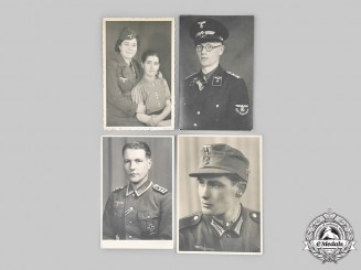 Germany, Third Reich. A Lot of Wartime Portraits