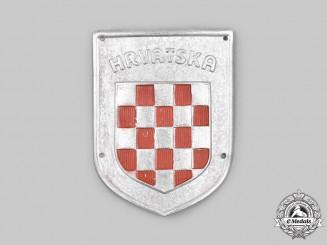 Croatia, Independent State. An Italian-Croatian Legion Badge c.1940