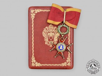 Vatican. Equestrian. An Order of St. Gregory the Great, III Class, Commander, by Tanfani & Bertarelli, c.1920