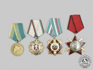Bulgaria, People's Republic. A Lot of Four Awards