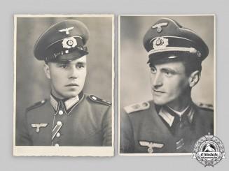 Germany, Heer. A Pair of Wartime Heer Portraits