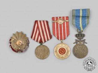 Romania, Kingdom, People's Republic, Socialist Republic. A Lot of Four Awards