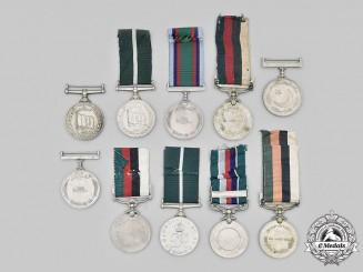 Pakistan, Republic. A Lot of Ten Medals