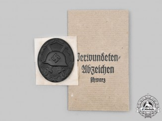 Germany, Wehrmacht. A Black Grade Wound Badge, by Heinrich Wander