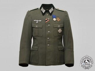 Germany, Wehrmacht. An Armed Forces Official Engineer/Technical Staff Officer-Grade Service Tunic