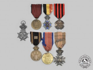 Belgium, Kingdom; Poland, Republic. A Lot of Seven Awards