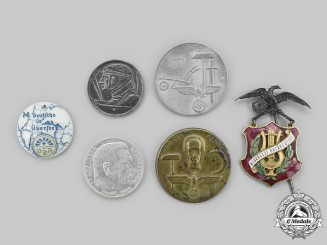 Germany. A Mixed Lot of Badges and Coins