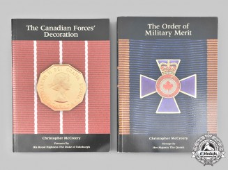 Canada, Commonwealth. Two Official Canadian Armed Forces Award Publications, Bilingual