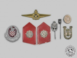 Croatia, Independent State. A Second War Lot of Eight Items