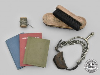 Canada, CEF. A First and Second War Lot of Seven Military Items
