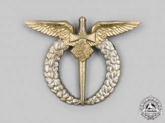 Czechoslovakia, I Republic. Pilot Badge c.1935