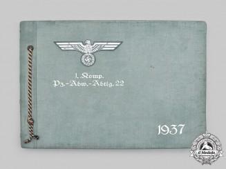 Germany, Heer. A 1937 Panzerabwehr-Abteilung 22 Photo Album