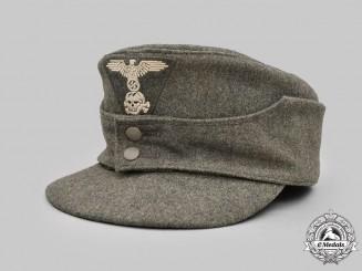Germany, SS. A Waffen-SS EM/NCO's M43 Field Cap, Late-War Dachau Example