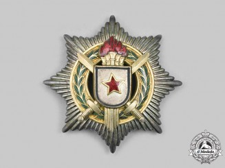 Yugoslavia, Socialist Federal Republic. An Order of Military Merit with Gold Swords, II Class